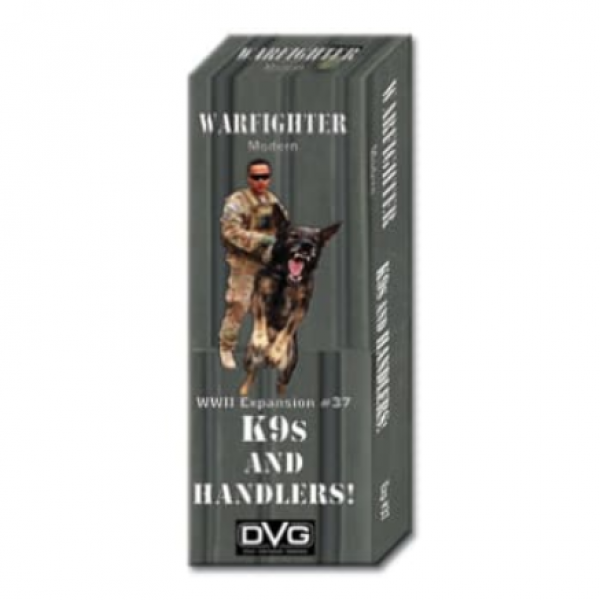 Warfighter Modern #037: K9s and Handlers!