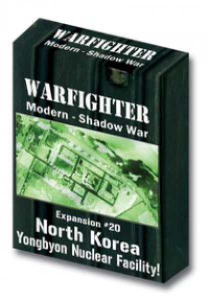 Warfighter Shadow War: Expansion 20: North Korea Yongbyon Nuclear Facility