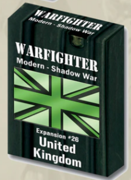 Warfighter Shadow War: Expansion 26: United Kingdom