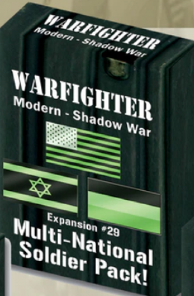 Warfighter Shadow War: Expansion 29 Multi National Soldiers