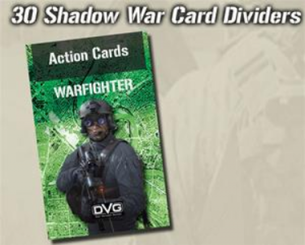 Warfighter Shadow War: Expansion 35 Card Dividers