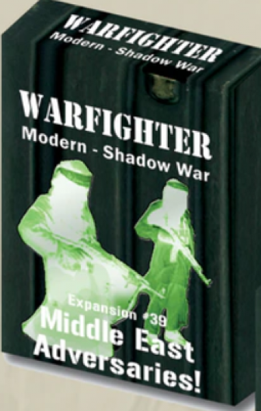 Warfighter Shadow War: Expansion 39: Middle Eastern Adversaries