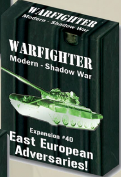 Warfighter Shadow War: Expansion 40: Eastern European Adversaries