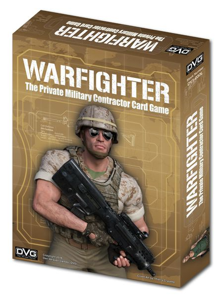 Warfighter The Private Military Contractor Card Game: Core Game
