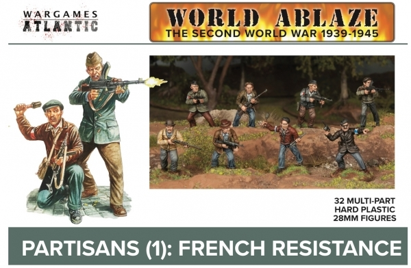 Wargames Atlantic: Partisans (1) French Resistance