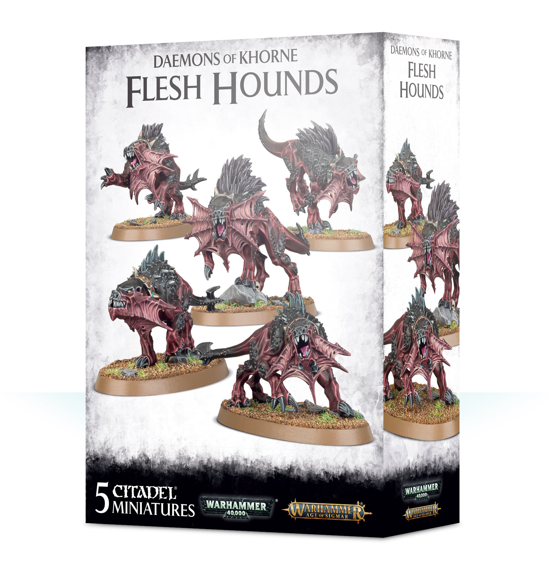Warhammer 40,000/ Age Of Sigmar: Chaos Daemons: Flesh Hounds