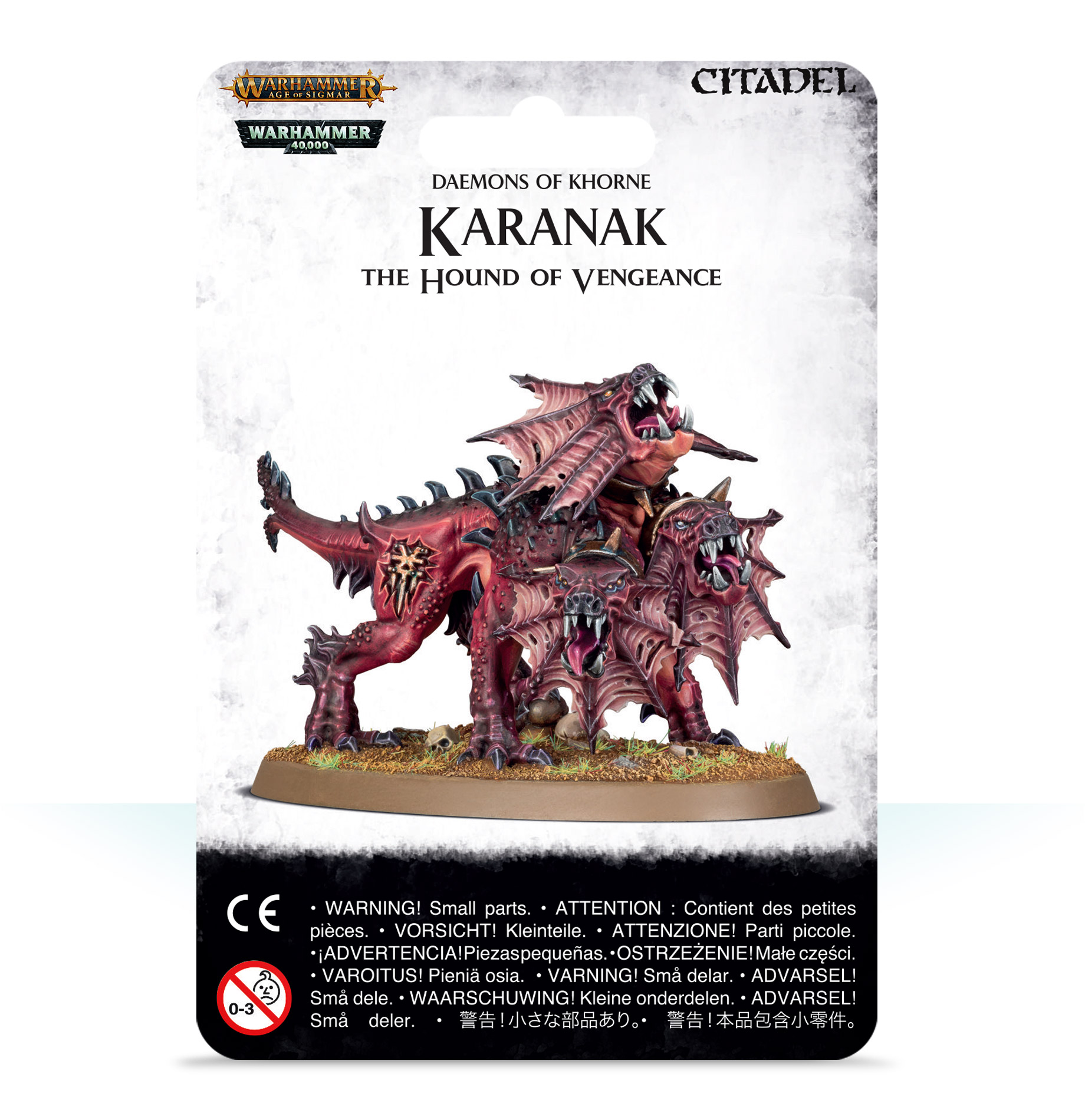 Warhammer 40,000/ Age Of Sigmar: Chaos Daemons: Karanak The Hound of Vengeance