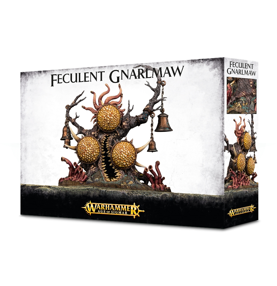 Warhammer 40,000/ Age Of Sigmar: Daemons of Nurgle: Feculent GnarlMaw