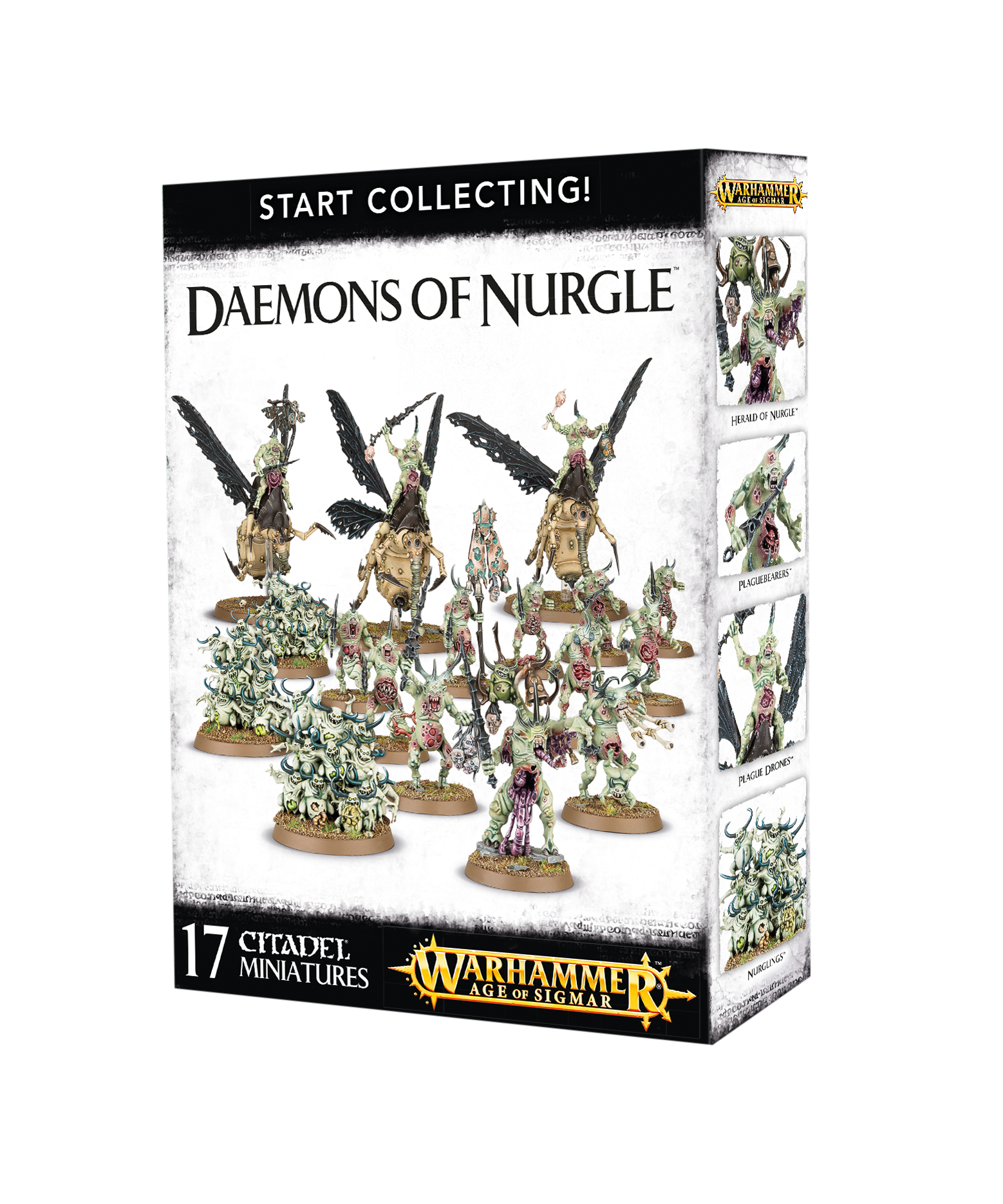 Warhammer 40,000/ Age of Sigmar: Daemons of Nurgle: Start Collecting!