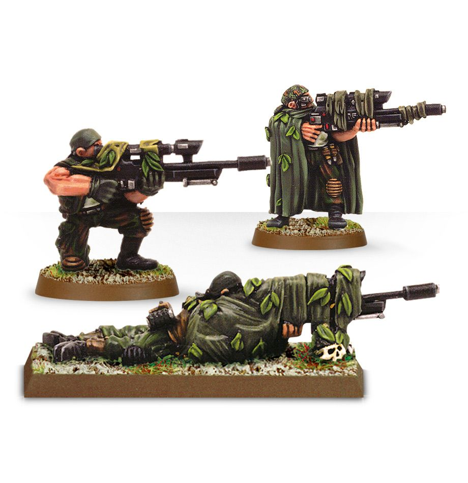 Warhammer 40,000: Astra Militarum: Catachan Snipers