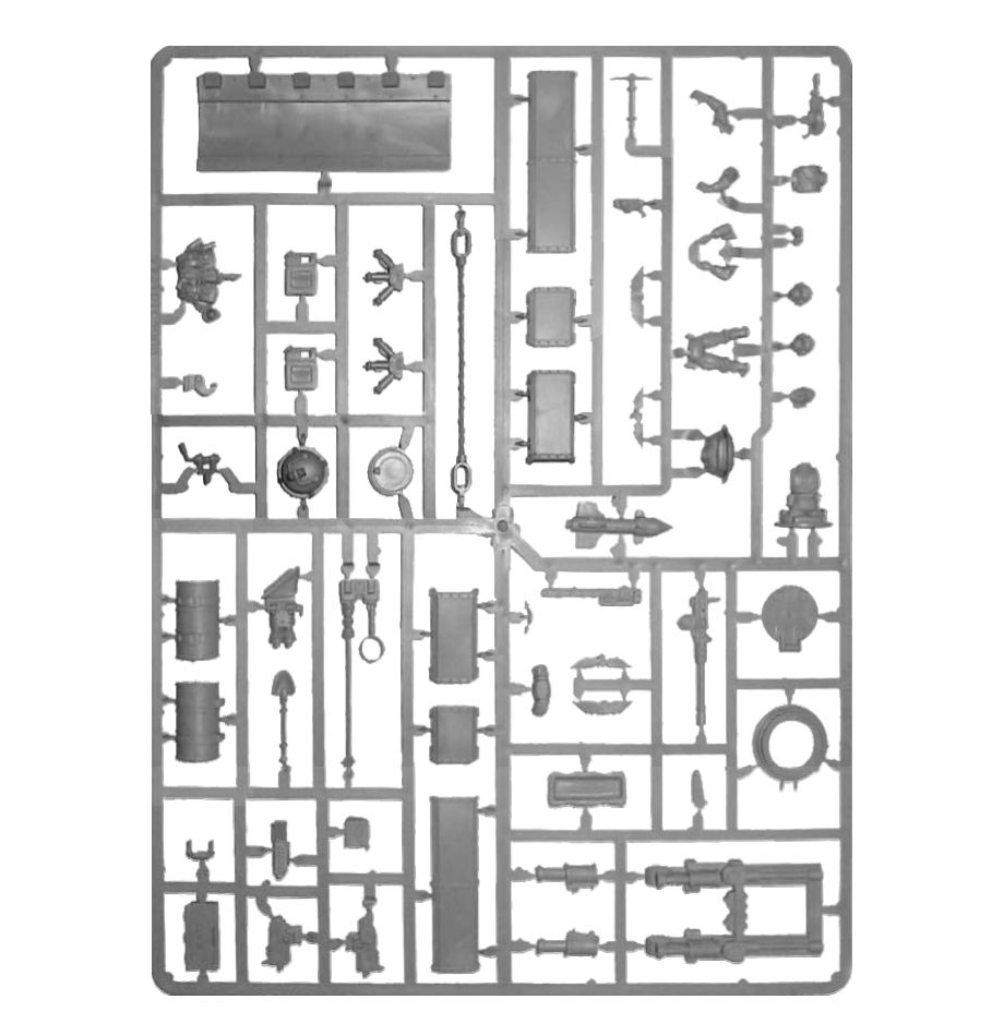 Warhammer 40,000: Astra Militarum: Tank Accessories