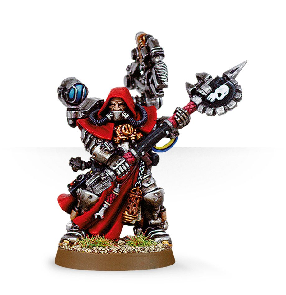 Warhammer 40,000: Astra Militarum: Techpriest Enginseer 2