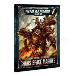 Warhammer 40,000: CODEX: CHAOS SPACE MARINES (HB)