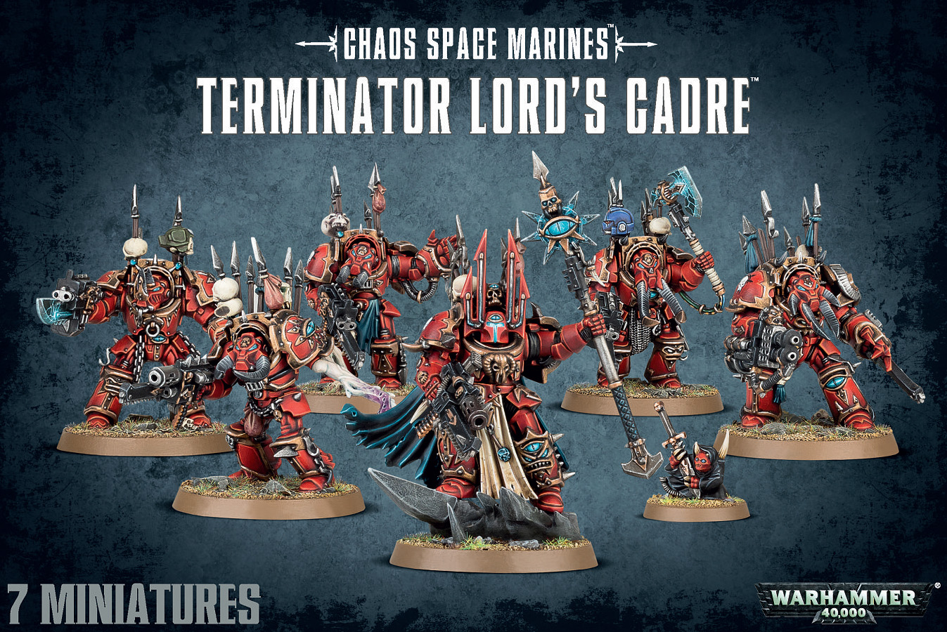Warhammer 40,000: Chaos Space Marines: Chaos Space Marines Terminator Lords Cadre