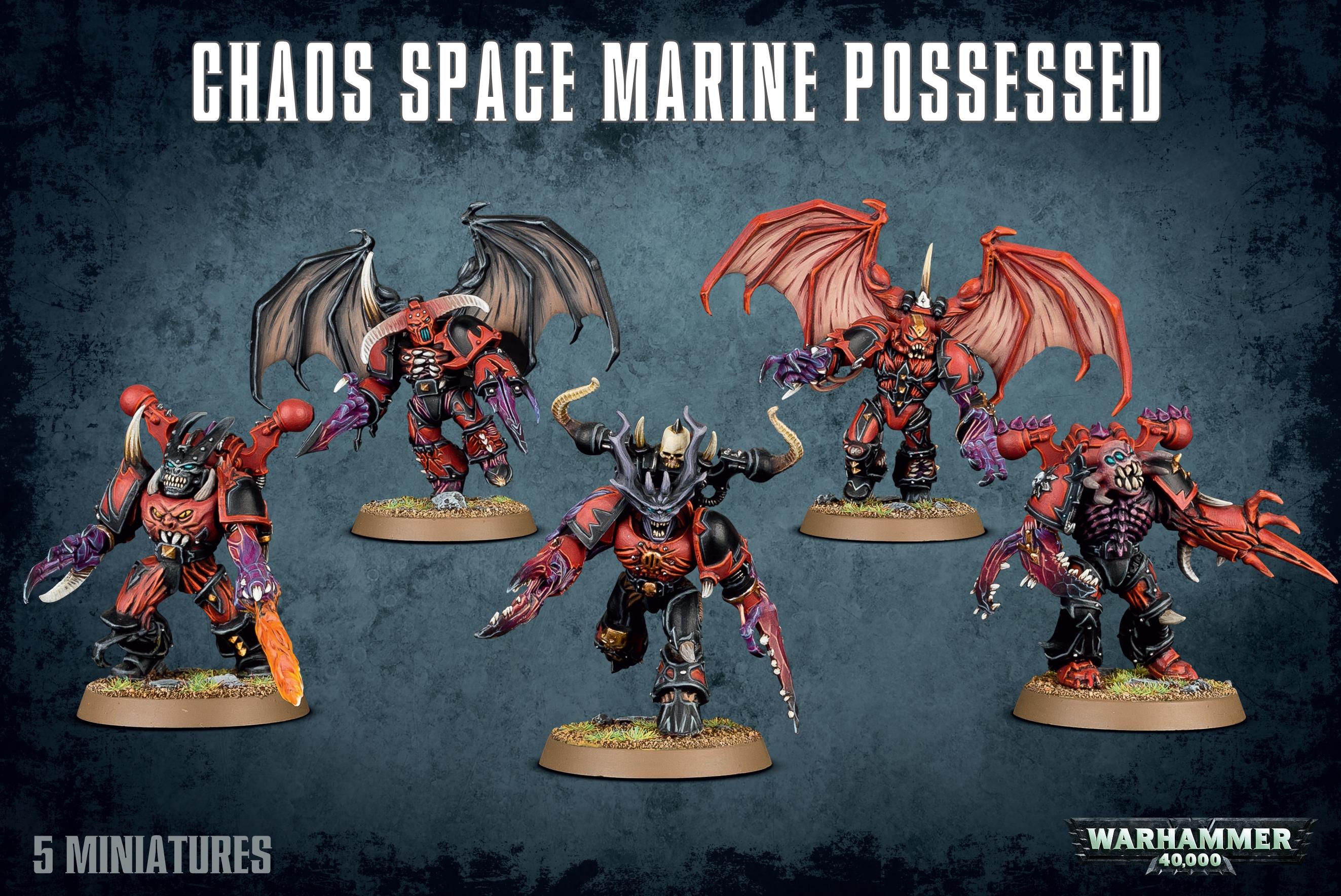 Chaos Rhino Chaos Space Marines Warhammer 40k *NEU /& OVP*