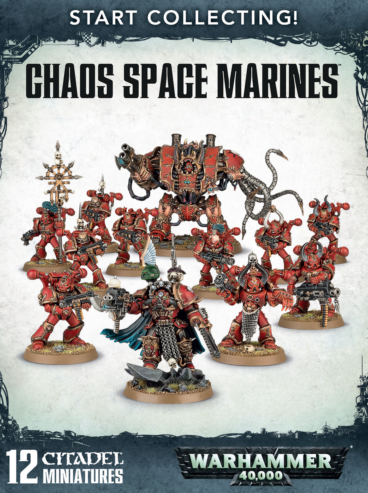 Warhammer 40,000: Chaos Space Marines: Start Collecting!