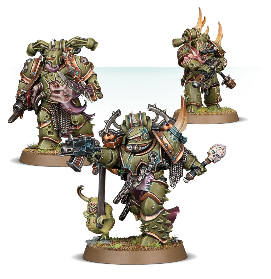 Warhammer 40,000: Death Guard: Plague Marines Reinforcements