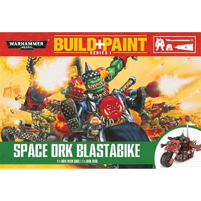 Warhammer 40,000: Orks: Build+Paint: Space Ork Blastabike