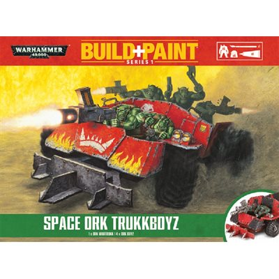 Warhammer 40,000: Orks: Build+Paint: Space Ork Trukkboyz
