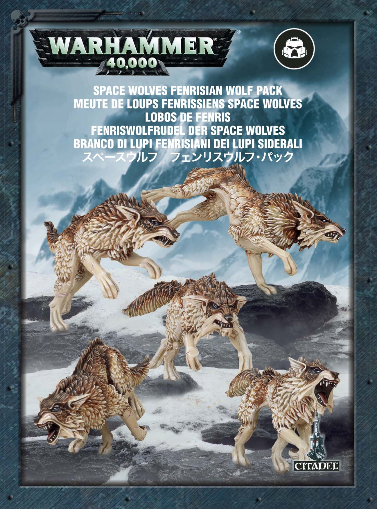 Warhammer 40,000: Space Wolves: Fenrisian Wolf Pack