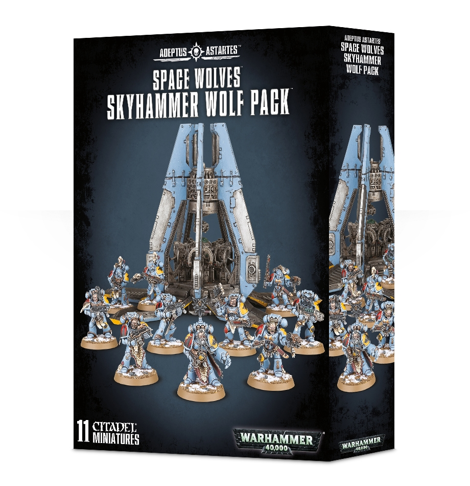 Warhammer 40,000: Space Wolves: SKYHAMMER WOLF PACK