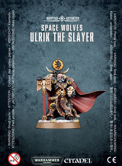 Warhammer 40,000: Space Wolves: Ulrik The Slayer