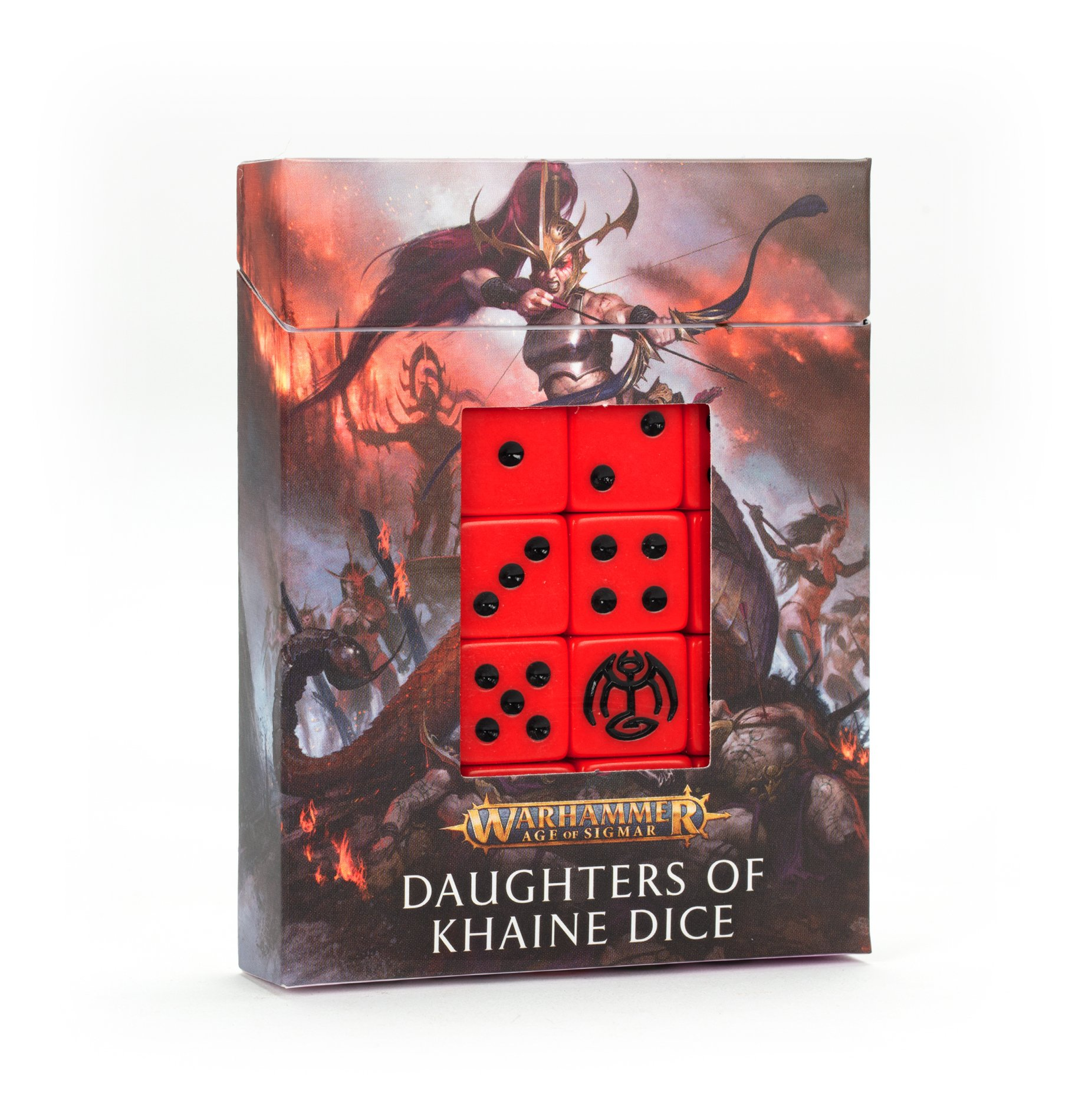 Warhammer Age Of Sigmar: Daughters of Khaine: Dice Set
