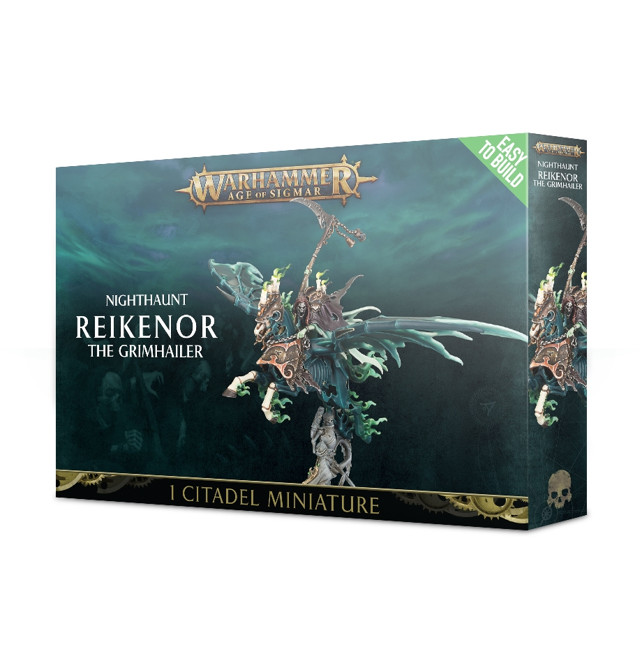 Warhammer Age Of Sigmar: Easy to Build: Nighthaunt: Reikenor the Grimhailer
