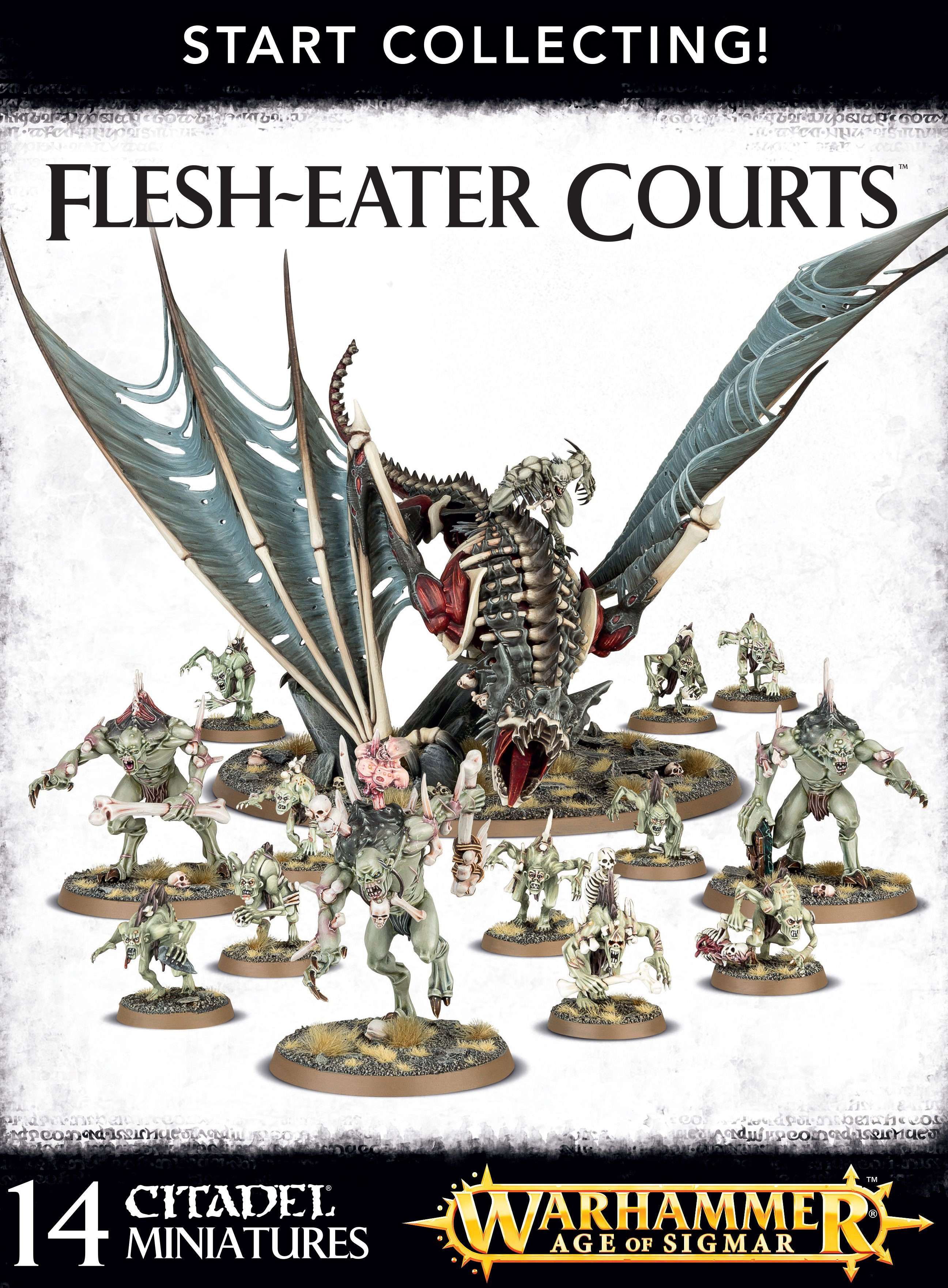 Warhammer Age Of Sigmar: Flesh-Eater Courts: Start Collecting!