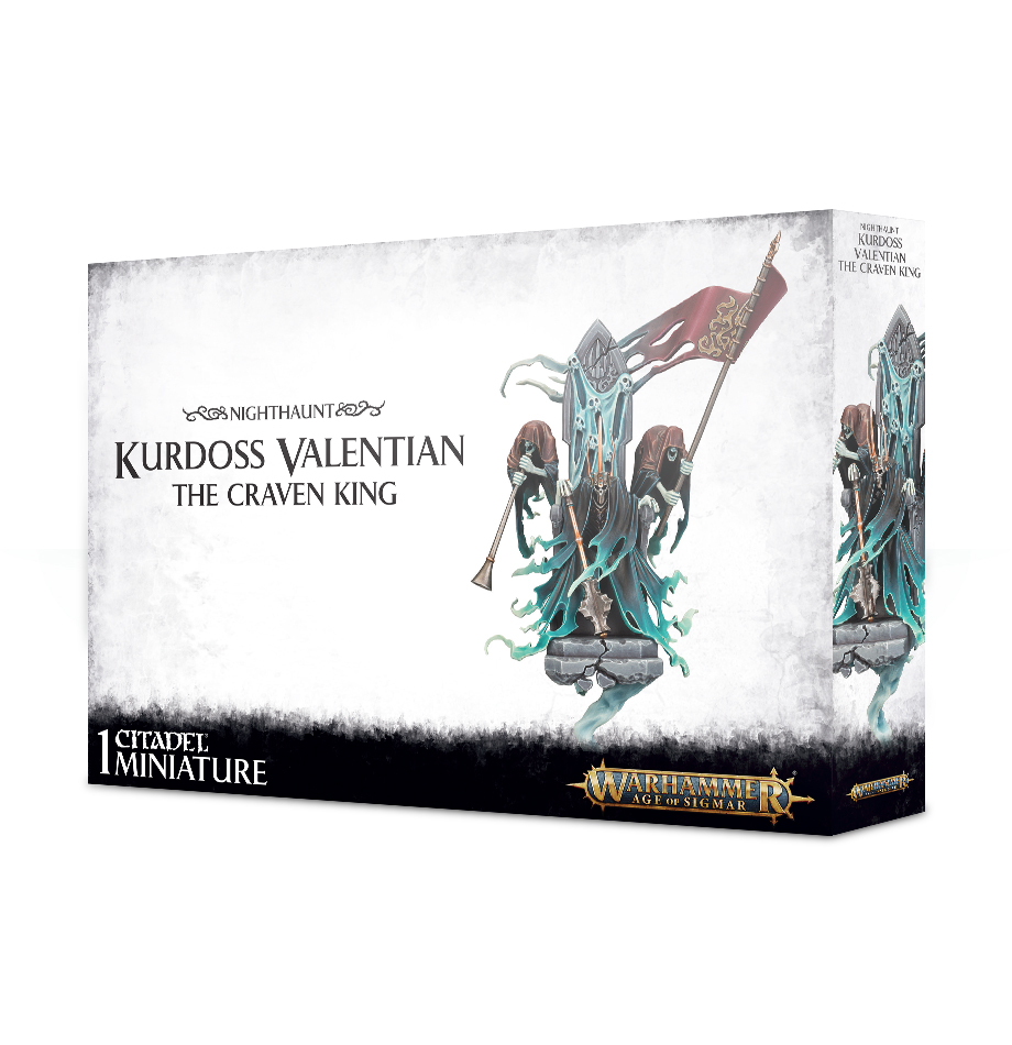 Warhammer Age Of Sigmar: Nighthaunt: Kurdoss Valentian, The Craven King