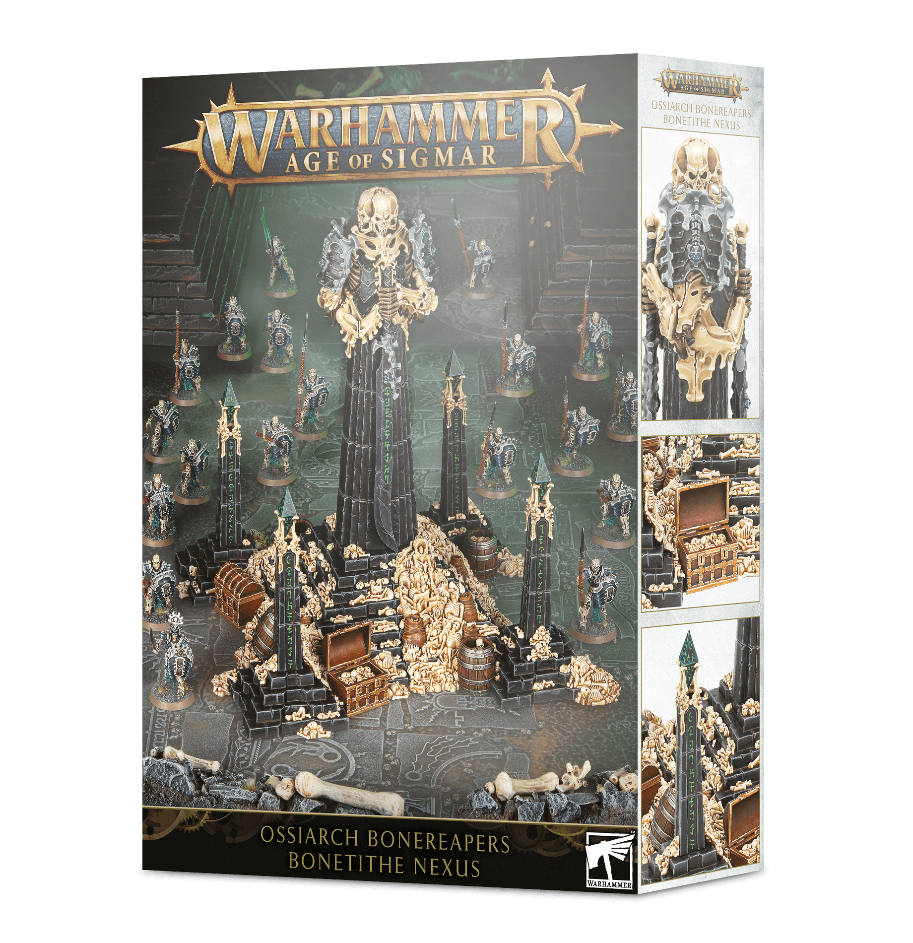 Warhammer Age Of Sigmar: Ossiarch Bonereapers: Bone-tithe Nexus