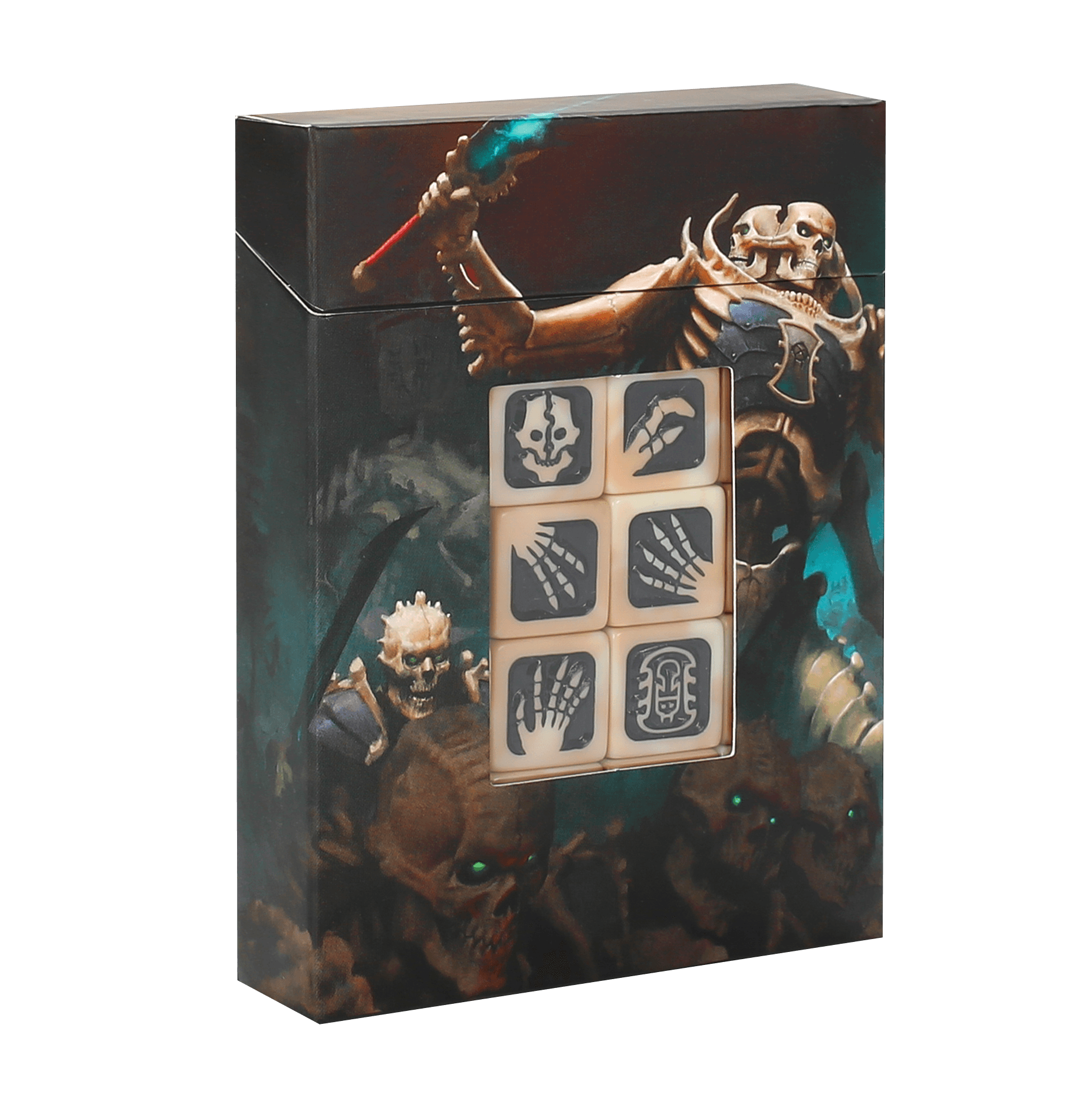 Warhammer Age Of Sigmar: Ossiarch Bonereapers: Dice Set