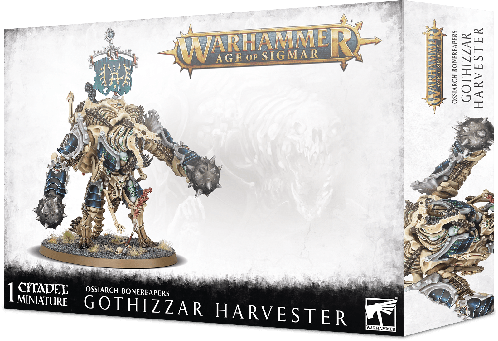 Warhammer Age of Sigmar: Ossiarch Bonereapers: Gothizzar Harvester