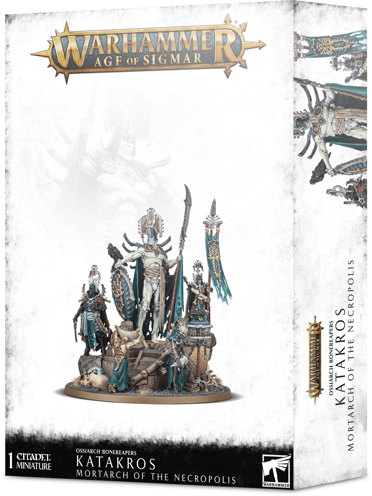 Warhammer Age of Sigmar: Ossiarch Bonereapers: Katakros Mortarch of the Necropolis