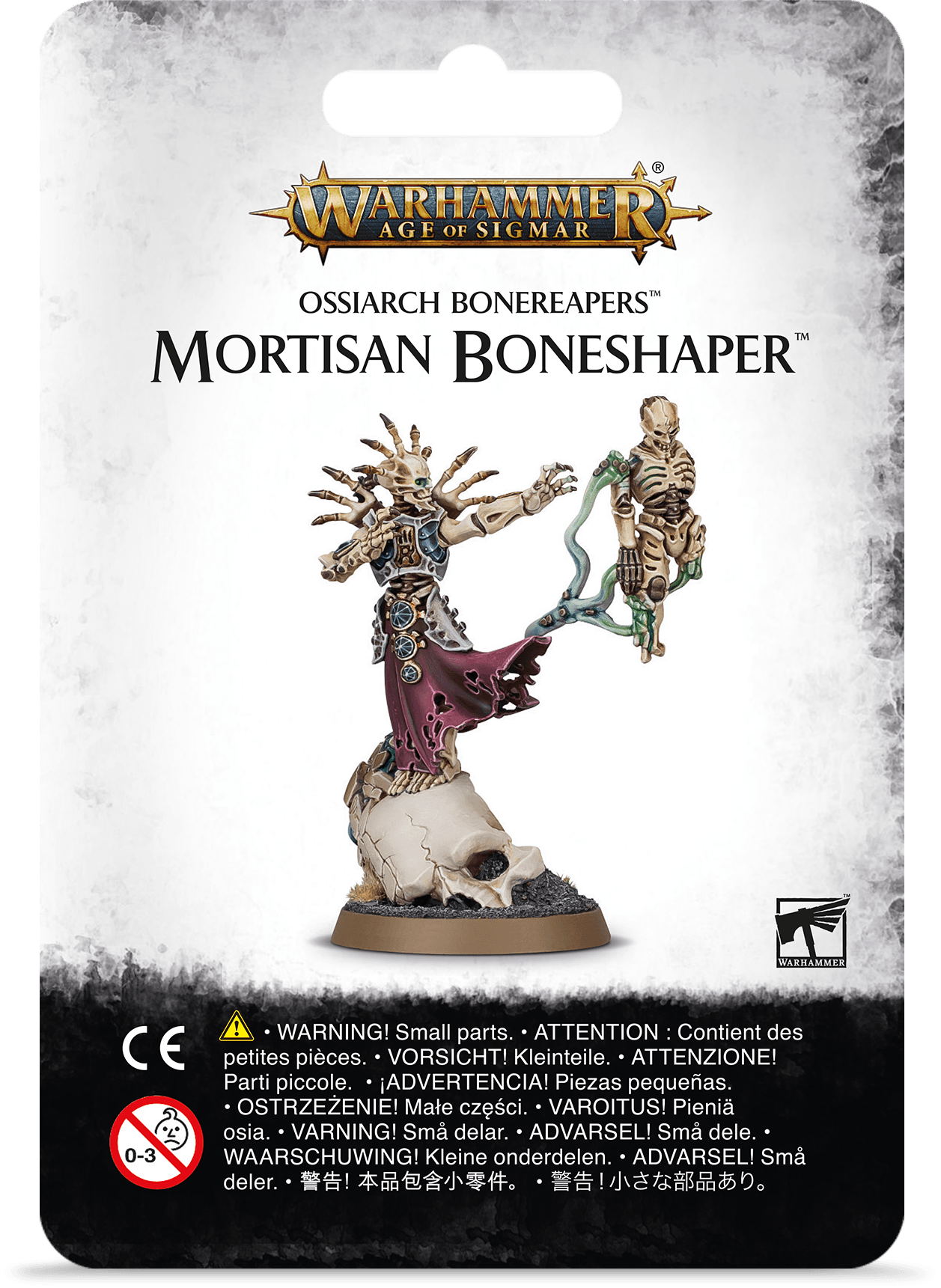 Warhammer Age Of Sigmar: Ossiarch Bonereapers: MORTISAN BONESHAPER