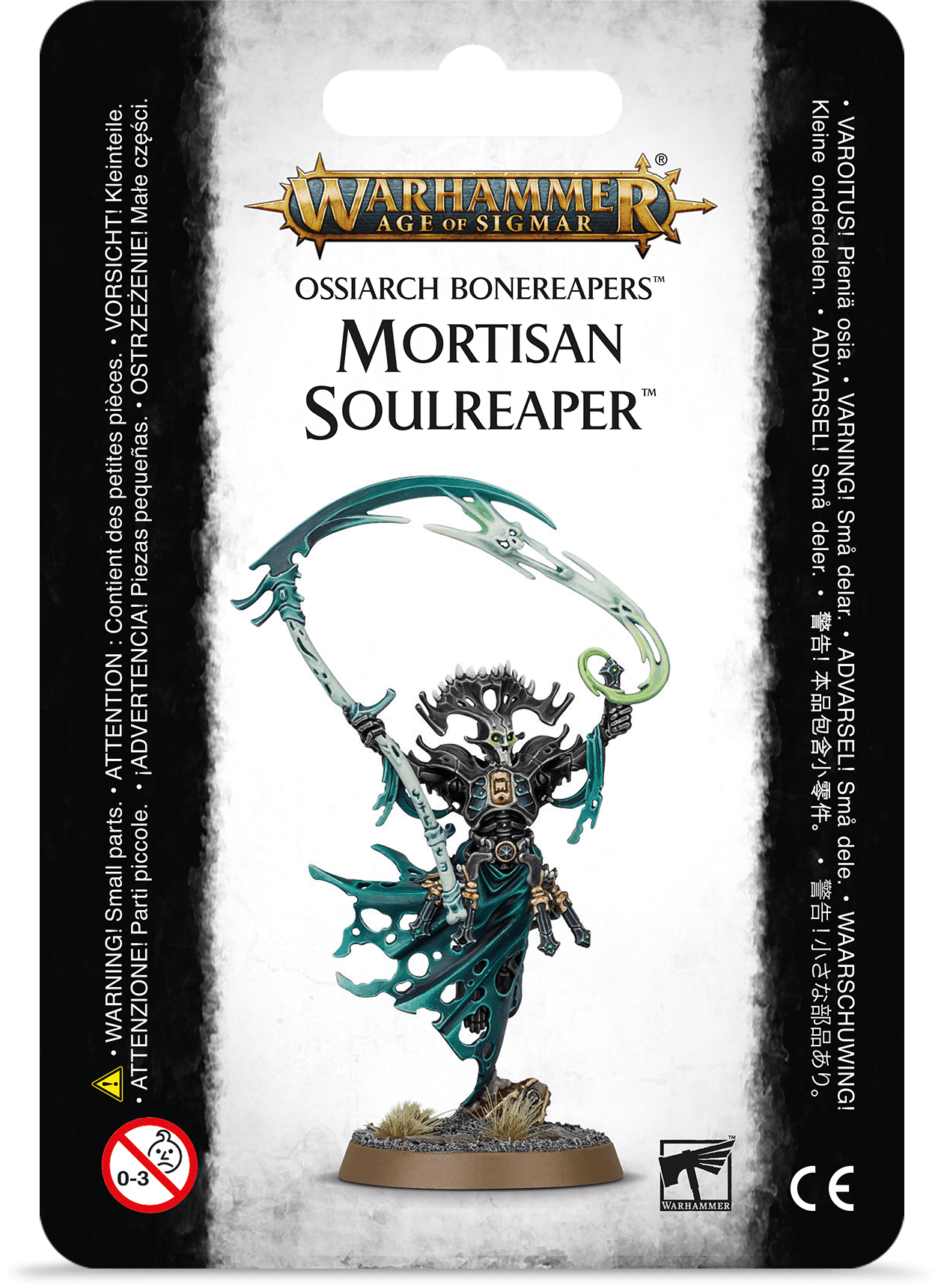 Warhammer Age Of Sigmar: Ossiarch Bonereapers: MORTISAN SOULREAPER