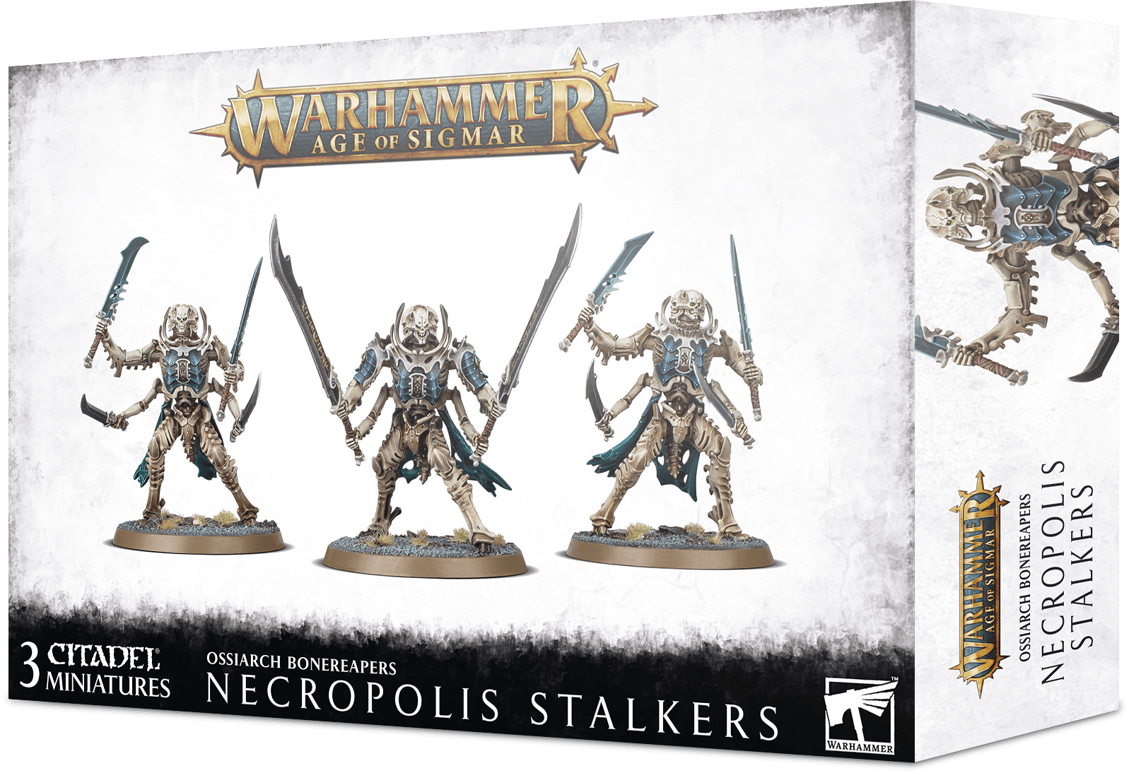 Warhammer Age Of Sigmar: Ossiarch Bonereapers: NECROPOLIS STALKERS
