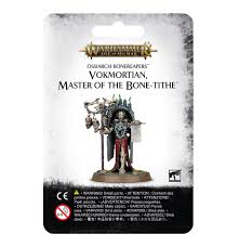 Warhammer Age Of Sigmar: Ossiarch Bonereapers: VOKMORTIAN MASTER OF THE BONE-TITHE