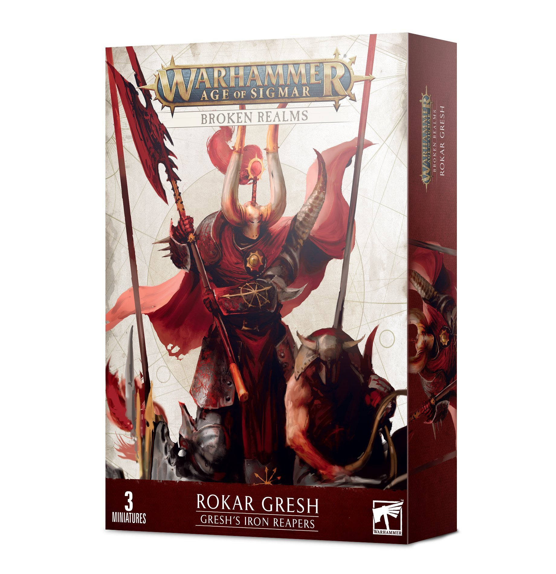 Warhammer Age Of Sigmar: Slaves to Darkness: Broken Realms - Greshs Iron Reapers