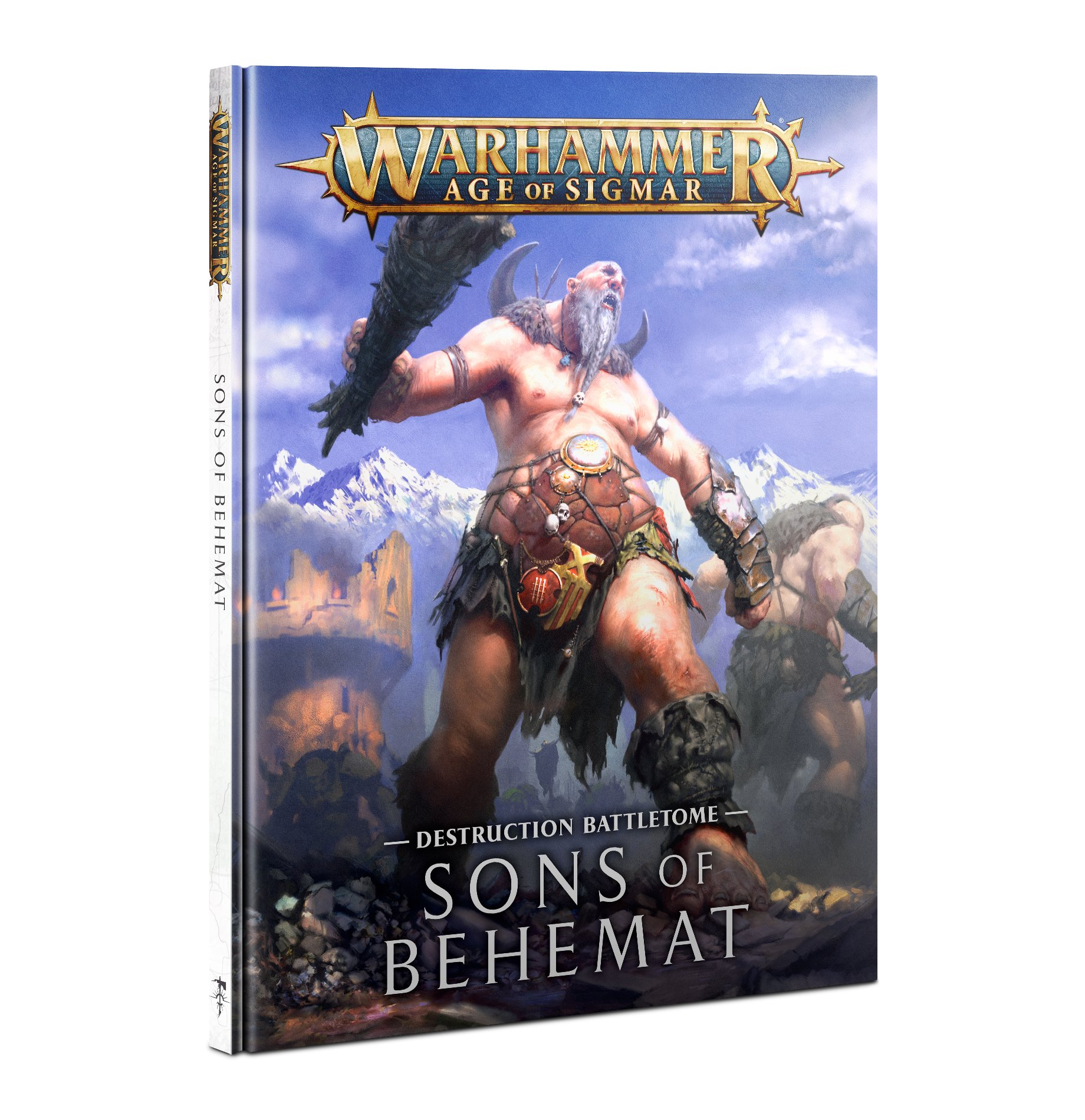 Warhammer Age of Sigmar: Battletome: Sons of Behemat