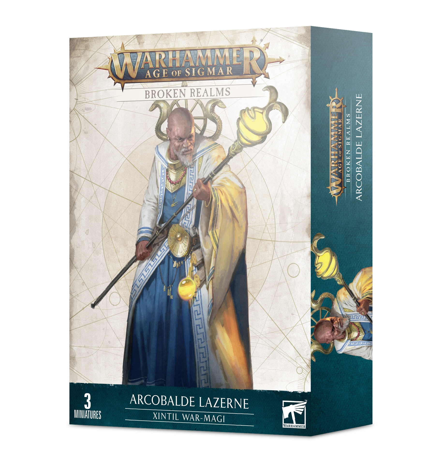 Warhammer Age of Sigmar: Cities of Sigmar: Broken Realms - Arcobalde Lazerns Xintil War-Magi