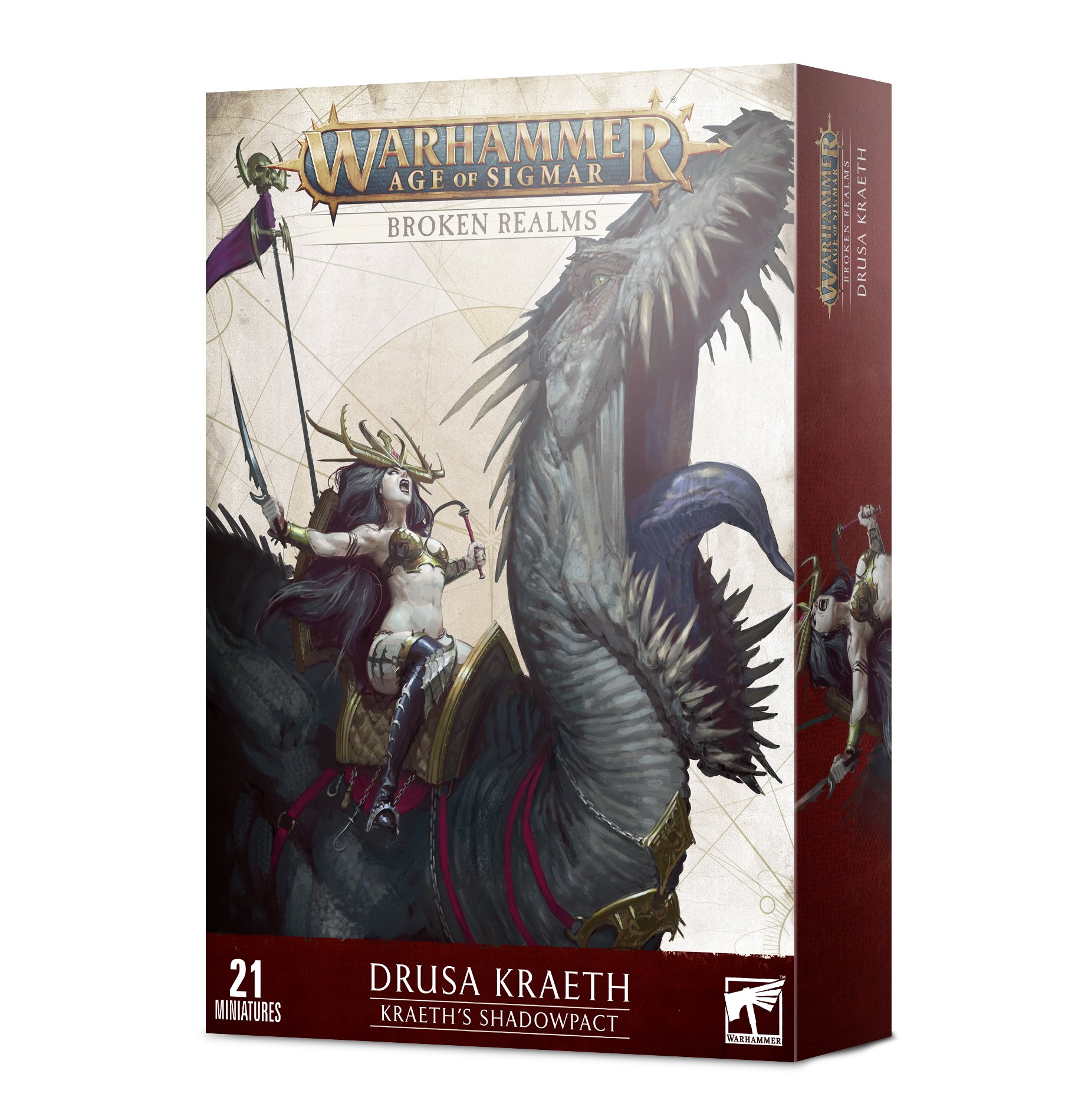 Warhammer Age of Sigmar: Cities of Sigmar: Drusa Kraeth: Kraeths Shadowpact