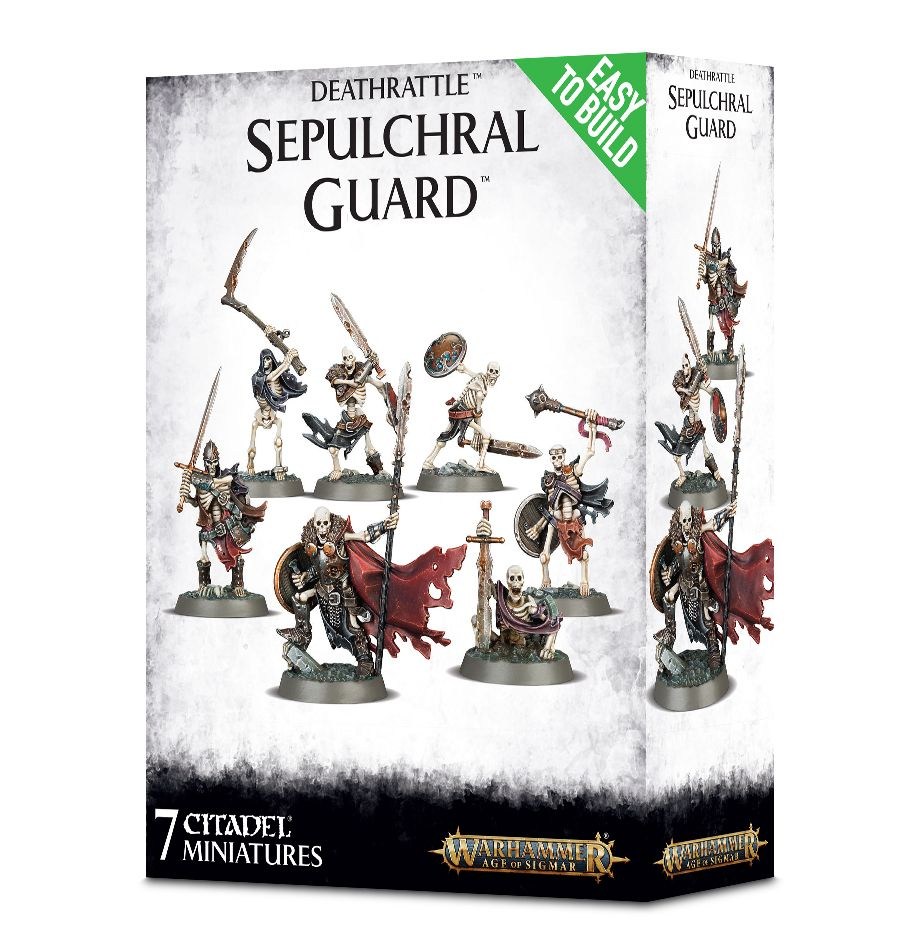 Warhammer Age of Sigmar: Deathrattle: Sepulchral Guard (Easy to Build)
