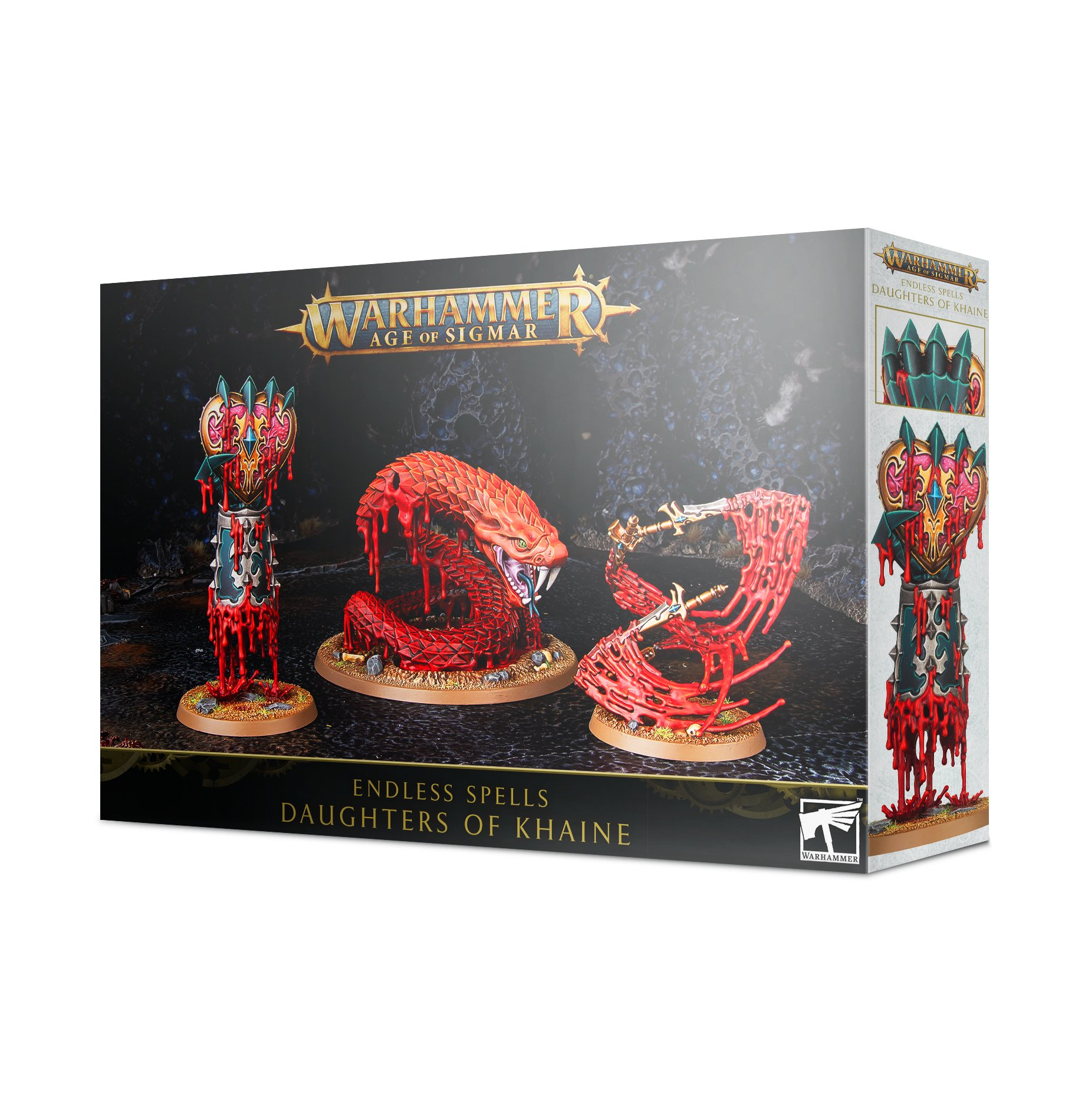 Warhammer Age of Sigmar: Endless Spells: Daughters of Khaine