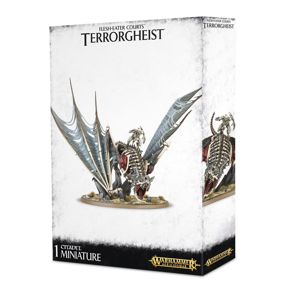 Warhammer Age of Sigmar: Flesh-Eaters Court: Terrorgheist / Vampire Lord on Zombie Dragon