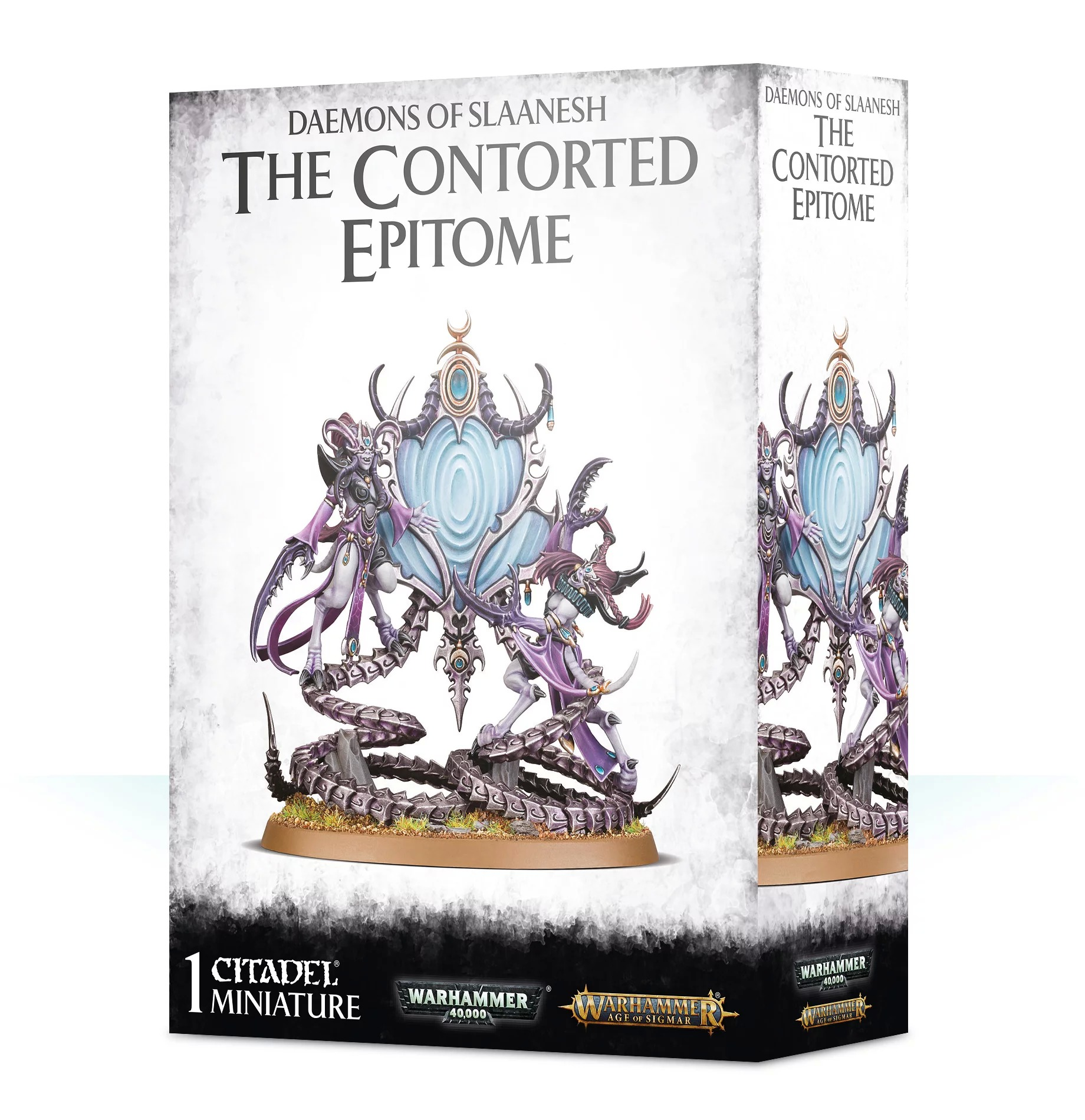Warhammer Age of Sigmar: Hedonites of Slaanesh: The Contorted Epitome