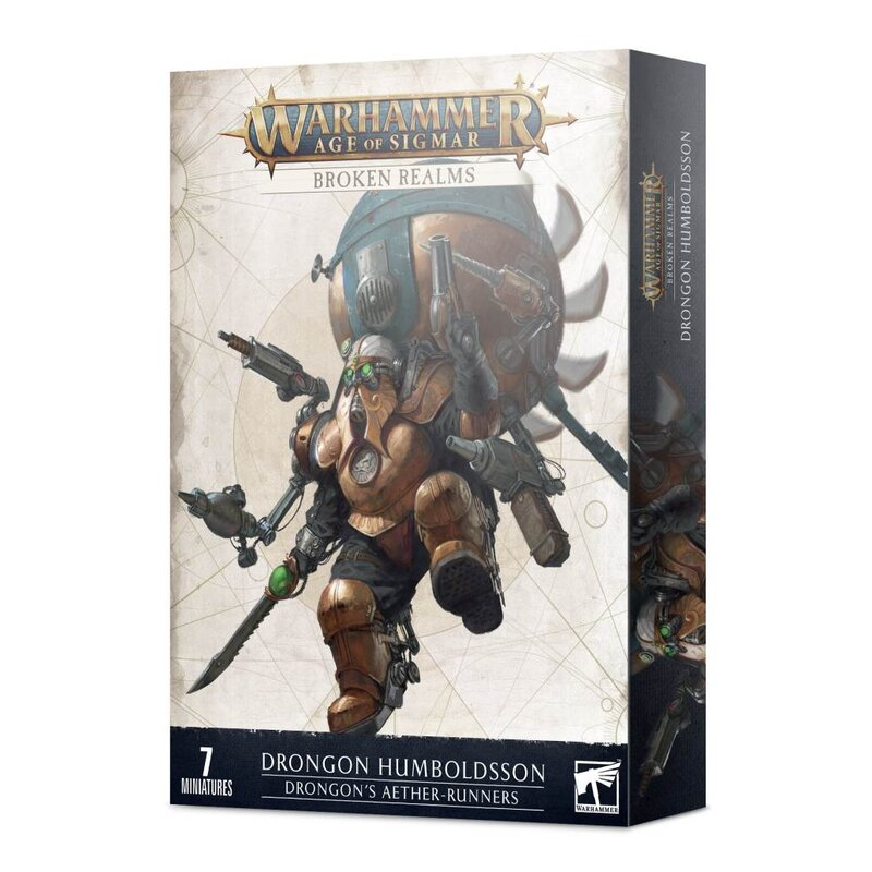 Warhammer Age of Sigmar: Kharadron Overlords: Broken Realms - Drongon's Aether-runners