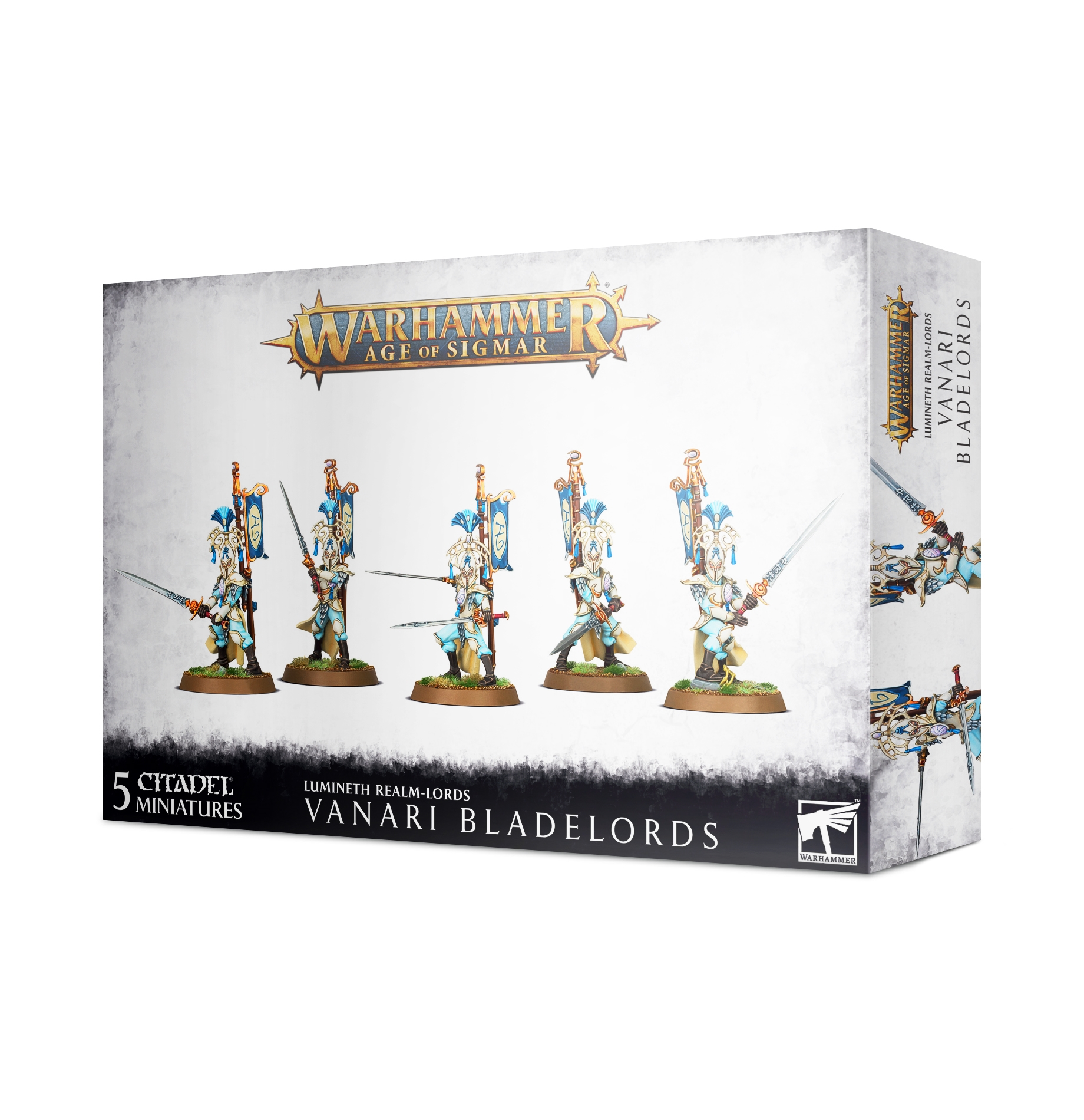 Warhammer Age of Sigmar: Lumineth Realm-lords: Vanari Bladelords