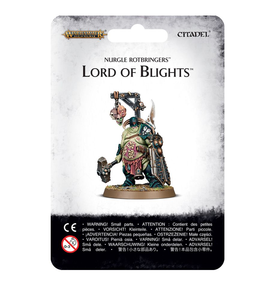 Warhammer Age of Sigmar: Nurgle Rotbringers: Lord of Blights