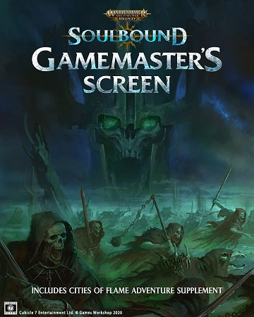 Warhammer Age of Sigmar RPG: Soulbound Gamemasters Screen